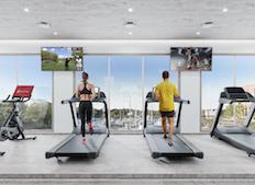 fitness center shippan landing